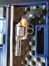 """Colt Anaconda, 44 Mag, 4"""" cased, CLEAN - 1 of 22"""