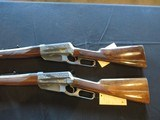 Browning 1895 High Grade PAIR! 30-06 and 30-40, New! - 2 of 25