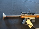 Squires Model 16, collapsible stock, by Kessner. 22 Semi Auto.