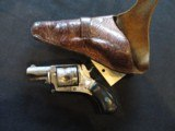 French Velodog 5 SHOT Nickel Revolver 6mm