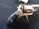 French Velodog 5 SHOT Nickel Revolver 6mm - 9 of 12