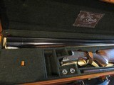 "Beretta 451 EELL Full Sidelock, 12ga, 28"" Clean in case!"