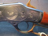 Winchester 73 1873 Turnbull Restoration Engraved Gun Winchester Collectors Assc. 2014 - 21 of 25