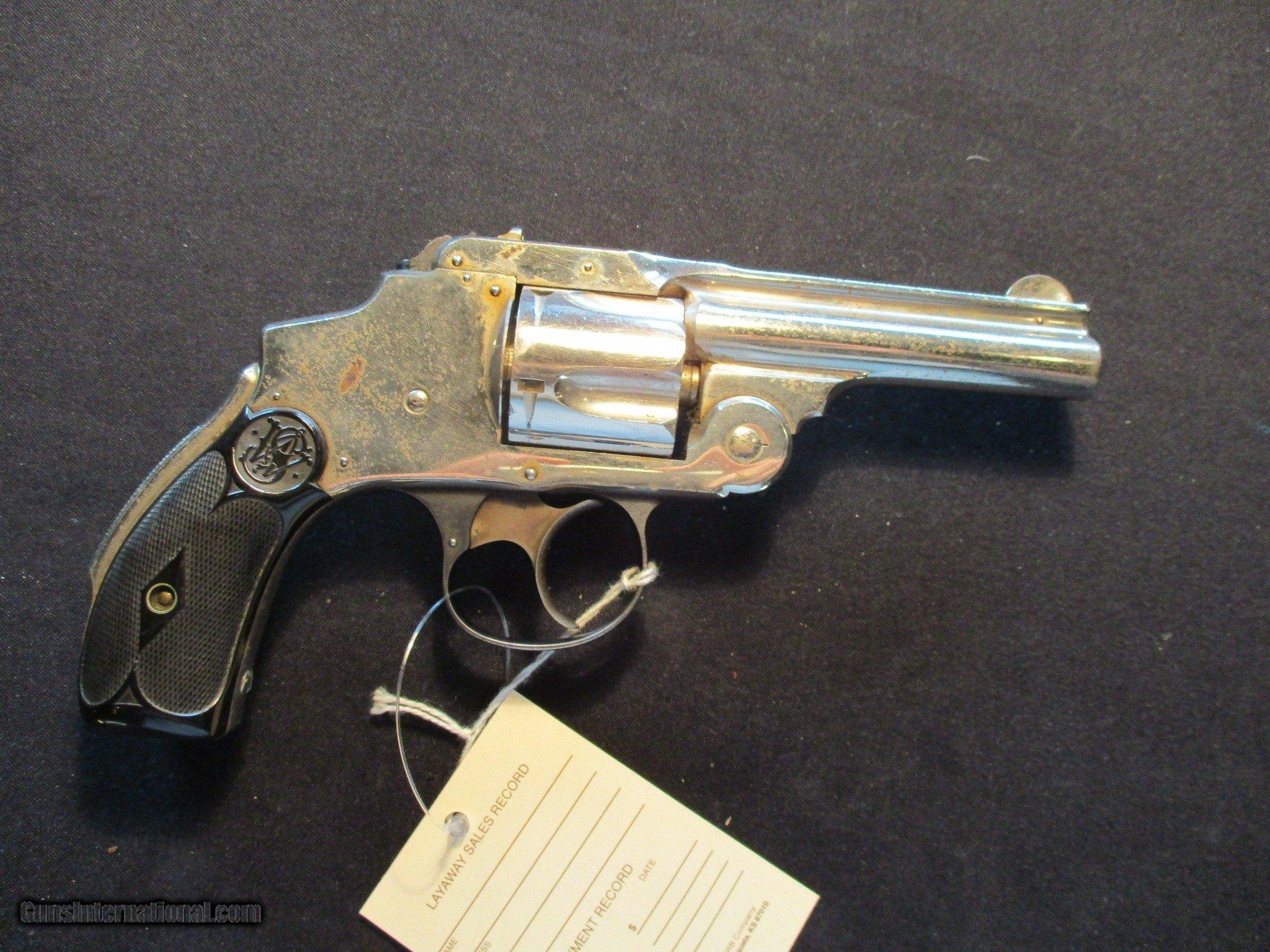 Smith & Wesson S&W Safety Hammerless DA 3rd Model 38 S&W