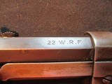 """Winchester 1890 22 WRF 24"""" Octagon made 1910 - 17 of 19"""