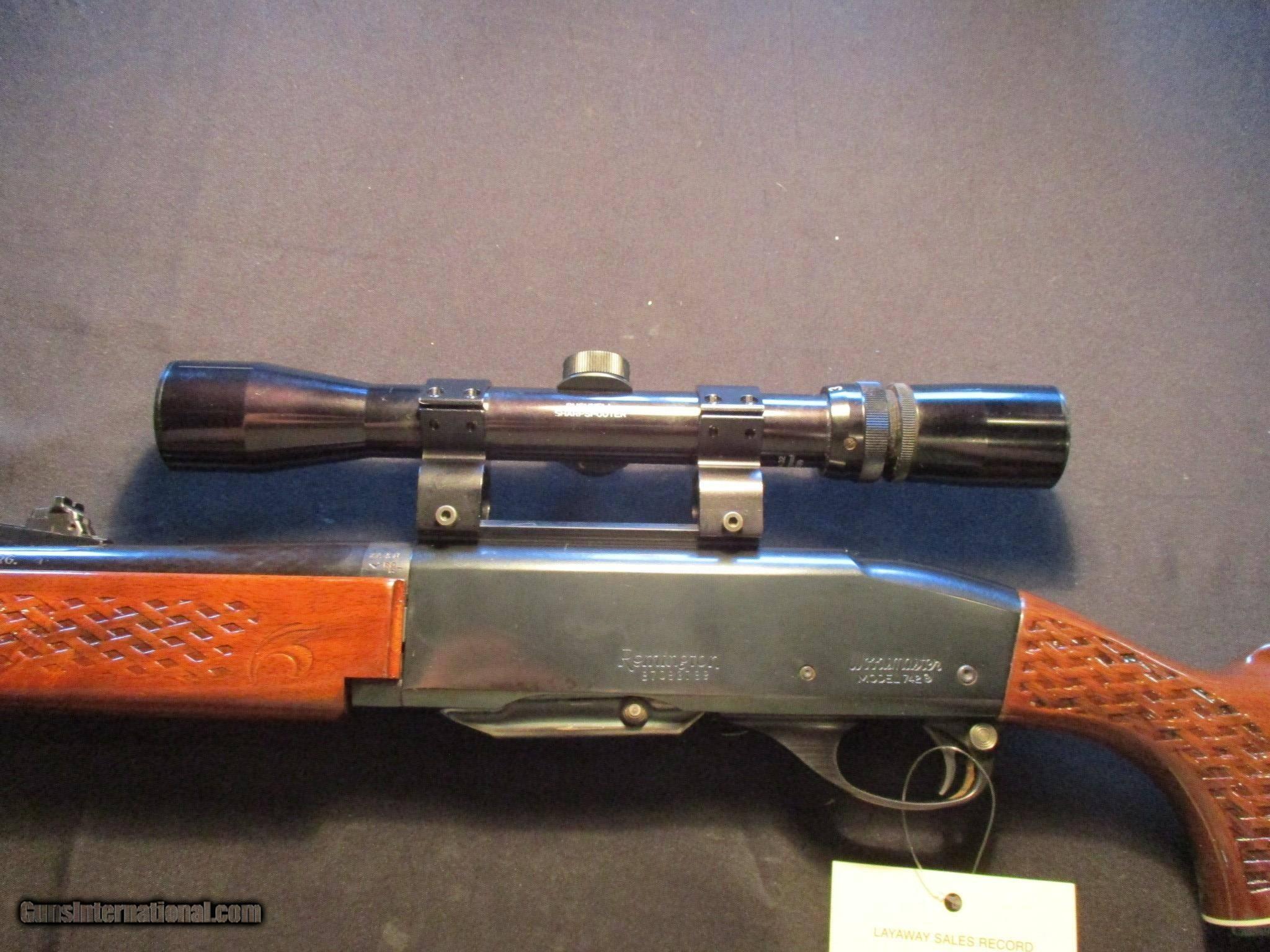 Woodsmaster problems 742 remington Remington Model