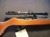 "Ruger 10/22 Carbine, 22LR with 18"" barrel and scope."