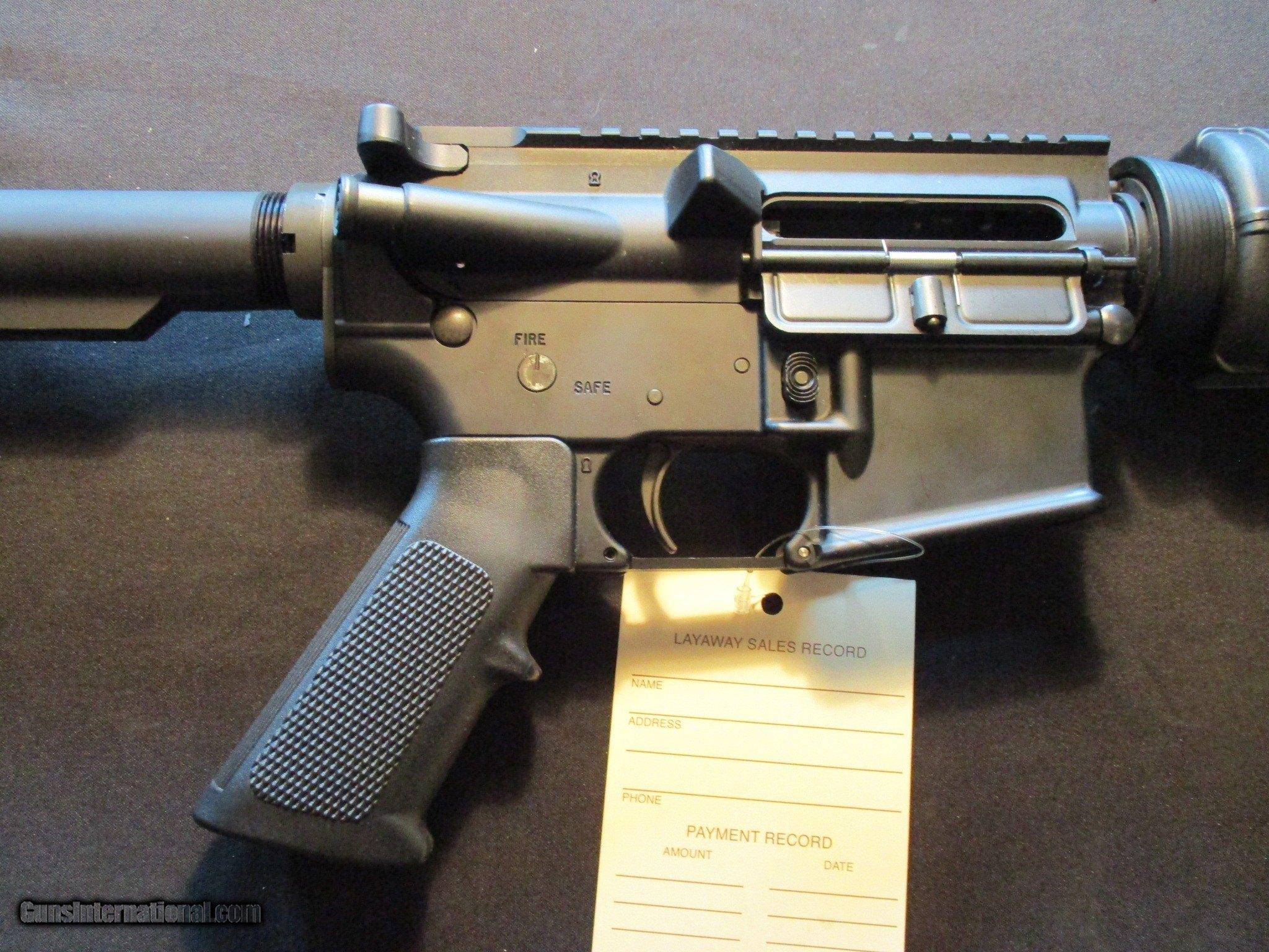 Bushmaster XM-15 E2S AR 15 Optics Ready Flat Top, Collapsible stock