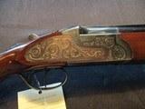 Sarasqueta Felix Side Plate, 12ga, Double Trigger Ejectors
