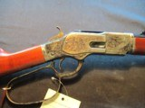 Uberti 1873 Short Rifle Limited Edition 45LC Engraved, large loop, NIB 342811