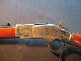 Uberti 1873 Short Rifle Limited Edition 45LC Engraved, large loop, NIB 342811 - 10 of 12