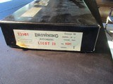 "Browning A5 Auto 5 Belgium, Light 20, 20ga, 26"" Skeet, BOXED! - 20 of 21"