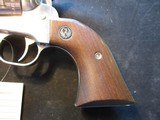 Ruger new Model Single Six Convertible, Stainless, 22LR and Mag, 1977, CLEAN - 12 of 14