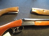 """Boito Spanish Side by Side, 20ga, 28"""" With extra stock! - 1 of 24"""