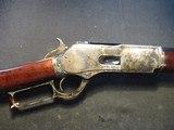 """Uberti 1876 Centennial rifle, 45/70 45/75 28"""" Octagon, NIB 342501"""