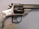 Smith & Wesson S&W 38 DA, 5th Model, nickel and pearl, NICE! - 13 of 15