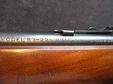Winchester 63, 22LR, made 1947, Clean! - 17 of 19