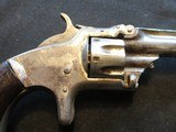 """Smith & Wesson Model 1, Third Issue, 22 Short, 3 3/16"""" Nickel 1868-1881 - 3 of 13"""