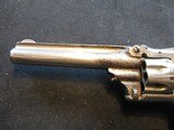 """Smith & Wesson Model 1, Third Issue, 22 Short, 3 3/16"""" Nickel 1868-1881 - 13 of 13"""