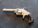 """Smith & Wesson Model 1, Third Issue, 22 Short, 3 3/16"""" Nickel 1868-1881 - 10 of 13"""