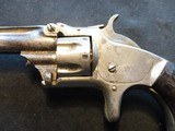 """Smith & Wesson Model 1, Third Issue, 22 Short, 3 3/16"""" Nickel 1868-1881 - 12 of 13"""