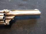 """Smith & Wesson Model 1, Third Issue, 22 Short, 3 3/16"""" Nickel 1868-1881 - 2 of 13"""