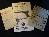 Ruger Mark 1 MK 1, 1972, MINT In box! - 12 of 12