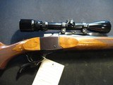 """Ruger Number 1 22-250, 26"""" made 1998, Scoped, Clean!"""