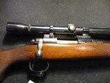 Remington 722, 222 Rem, Early gun, Weaver K10 Scope