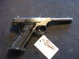 """Colt Huntsman, 22 LR, 4 5/8"""" barrel, made 1957"""