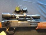 """Mossberg 500 Slug, 20ga, 24"""" Rifled, scope, Clean!"""