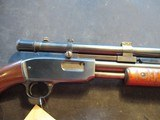 Winchester 61 22 S, L, LR, Clean, Made 1949, Period Weaver Scope!