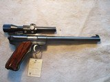 """Ruger Mk 2 Mark 2 Target, 22LR, 10"""" in box with scope"""