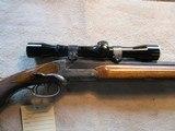 German Single Shot Stalking Rifle, 22 Center Fire, Classic!