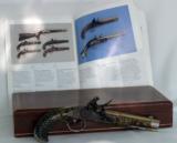 Fine Custom Kentucky Flintlock Pistol by Alvin A. White - 4 of 4