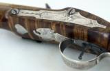 Fine Custom Kentucky Flintlock Pistol by Alvin A. White - 3 of 4