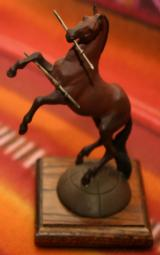 Limited Edition Cold Cast Rampant Colt Sculpture with books - 2 of 7