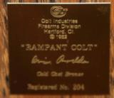 Limited Edition Cold Cast Rampant Colt Sculpture with books - 4 of 7