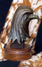 The Proud One Bronze Eagle Head Sculpture by Gary Cooley - 4 of 6