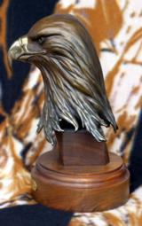 The Proud One Bronze Eagle Head Sculpture by Gary Cooley - 3 of 6