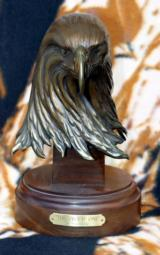 The Proud One Bronze Eagle Head Sculpture by Gary Cooley - 1 of 6