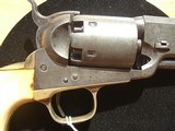EARLY HARTFORD COLT NAVY REVOLVER WITH PERIOD IVORY GRIPS - 10 of 12