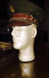 WWII Army officers cap size 6 7/8 original condition-piece of history you can wear - 7 of 7