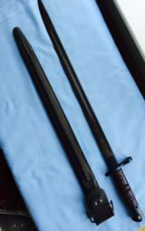 Springfield/Enfield WWI 1917 uncut and mint bayonet by Remington Arms - 11 of 11