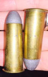 50-70 Caliber Benet -Australian made in perfect cond-8 cartridges - 2 of 3