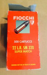 Fiocchi Match target -full brick of 500 rds-ten boxes