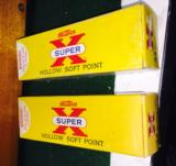 Vintage Yellow box 20 rounds of 44 magnum ammo