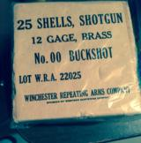 Full box brass 12ga WWII shotgun shells