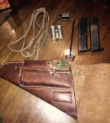 Swedish Lati holster 100% complete with all accesories