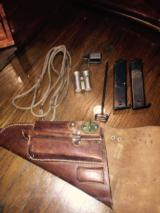 Original Lati full rig holster with all orginal accessories-WWII